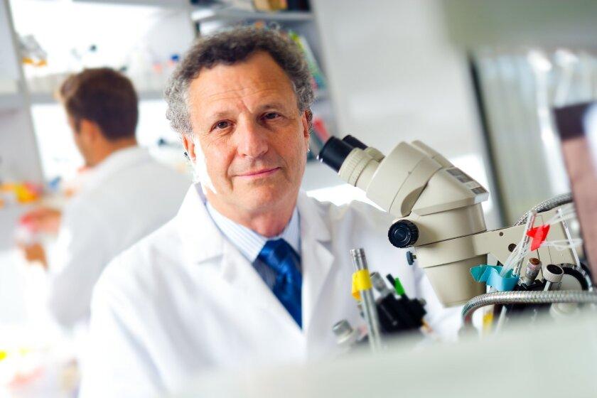 Scientist Stuart A. Lipton of the Sanford-Burnham Medical Research Institute.