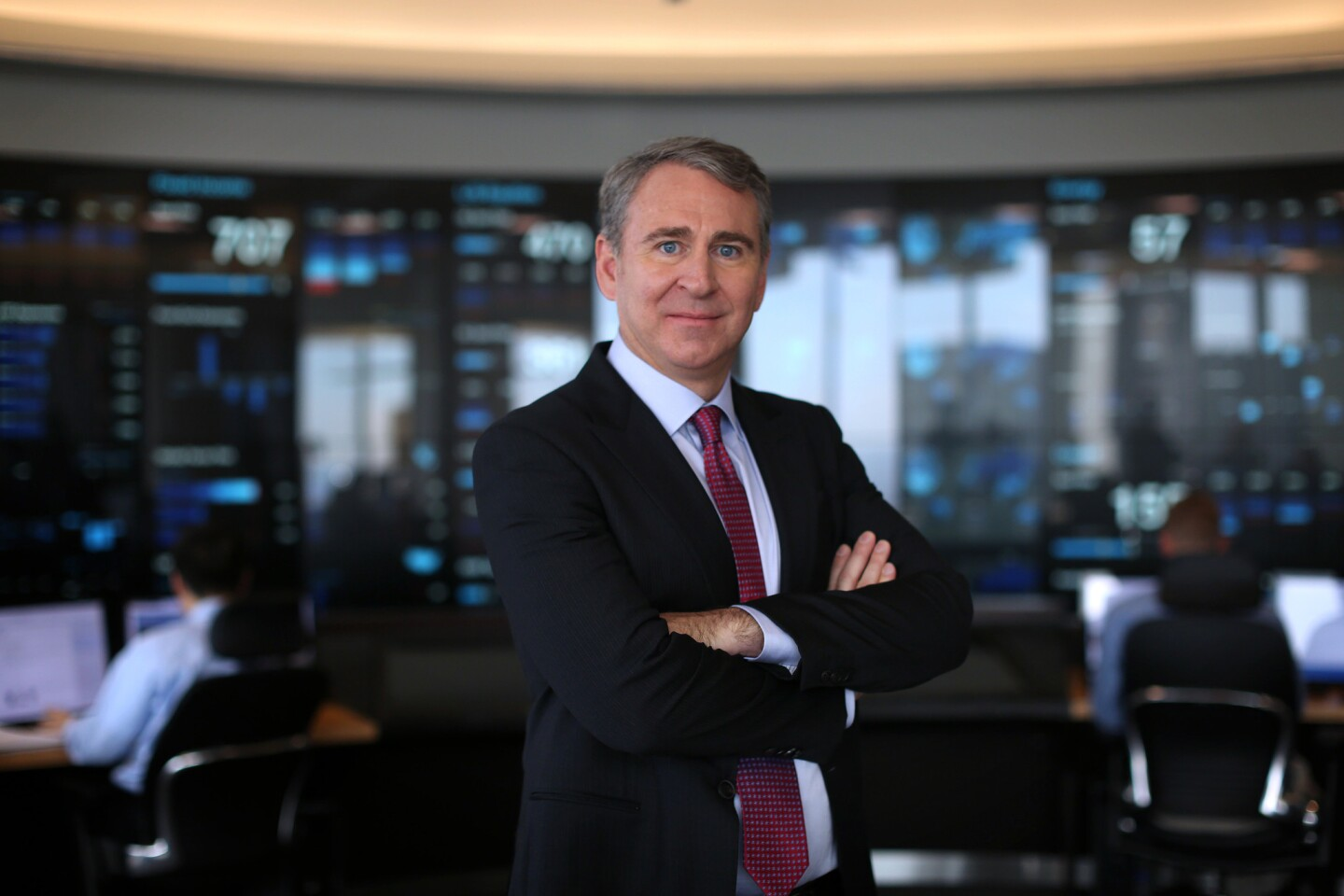 Ken Griffin, the founder and CEO of Citadel, is the richest person in Illinois, with a net worth of $10 billion. That makes him the 45th richest person in the country, according to Forbes.