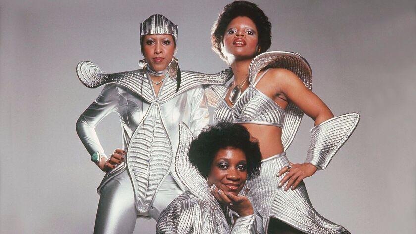 Patti Labelle, center, Nona Hendryx and Sarah Dashas LaBelle in 1975.