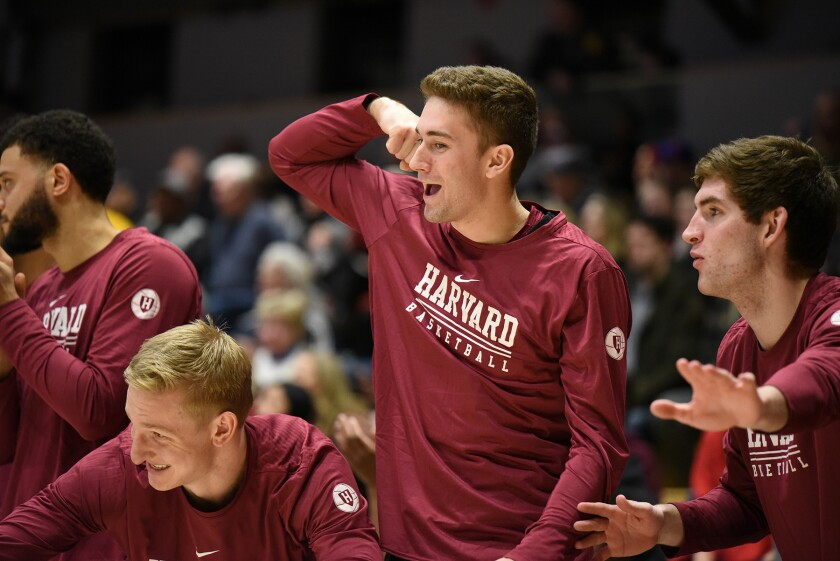Harvard's Reed Farley was hoping for a big basketball season, but the Ivy League canceled all winter sports due to COVID-19.