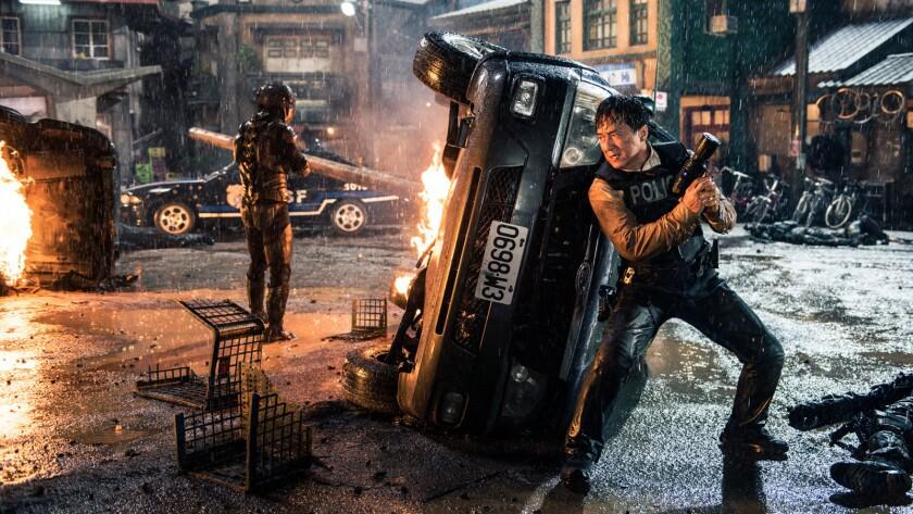 """Jackie Chan in the film """"Bleeding Steel."""""""