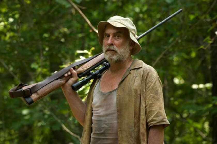 """Jeffrey DeMunn, who plays Dale in the AMC-TV zombie drama """"The Walking Dead,"""" is hanging up his gun (for the moment) to play Willy Loman in the Old Globe Theatre's """"Death of a Salesman."""""""