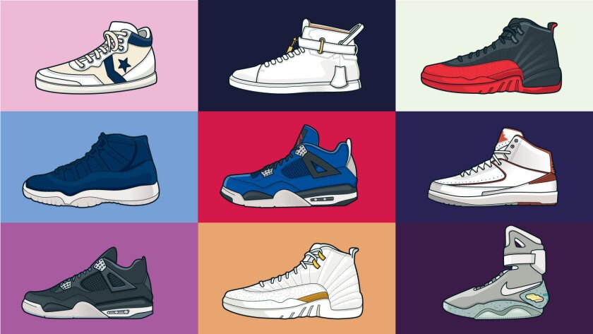 1a3d51fa Sneaker grails: Find out which sneakers cost more than cars - Los ...