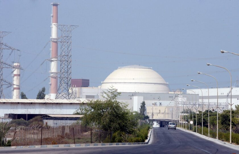 Iran has agreed to greater inspections of its nuclear facilities, which include the power plant in Bushehr, seen in August 2010.