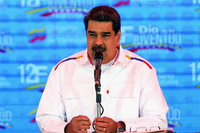 El presidente de Venezuela, Nicolás Maduro. EFE/Archivo