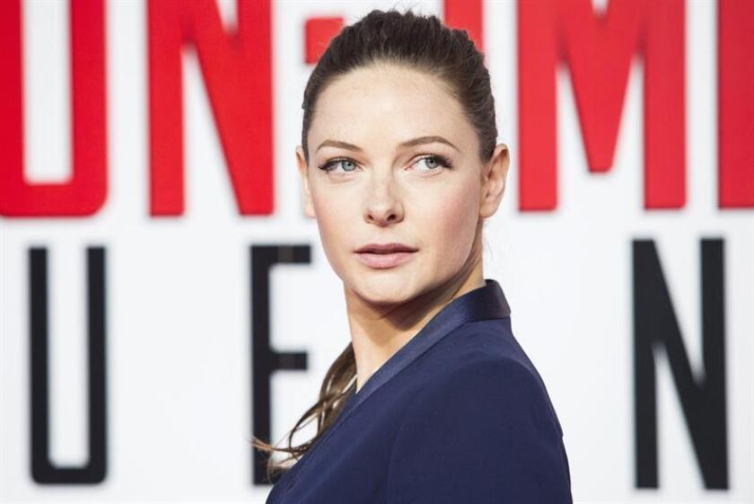 Swedish actress Rebecca Ferguson. EFE/EPA/FILE