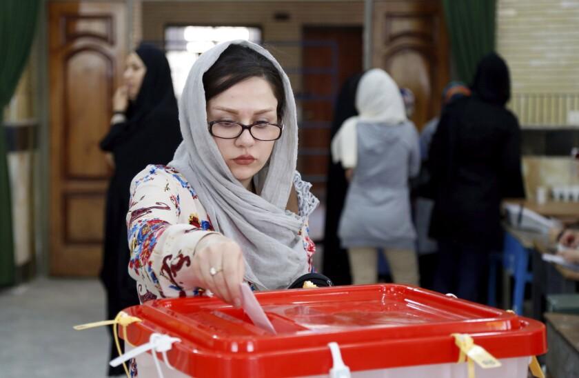 Iran election runoff