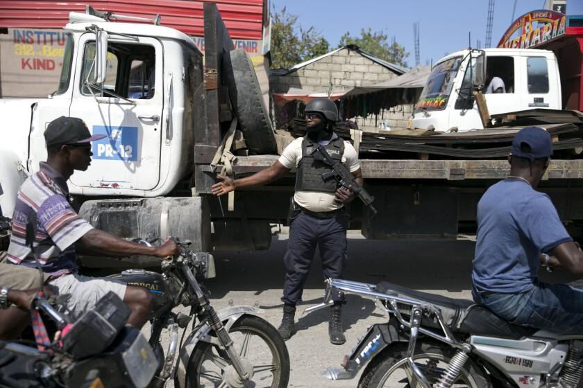 HAITI CRISIS POLITICA