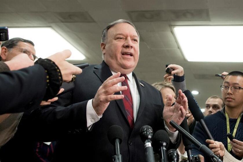 El secretario de Estado de Estados Unidos, Mike Pompeo. EFE/Archivo