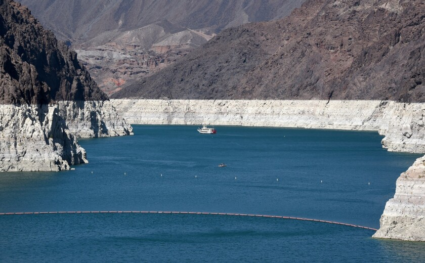 Although prolonged drought in the Colorado River Basin has dramatically lowered Lake Mead's level, a new study finds groundwater losses in the basin are much greater.