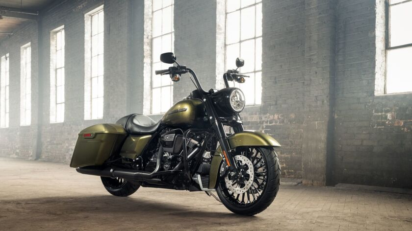 Harley-Davidson Road King Special: a new look for an old