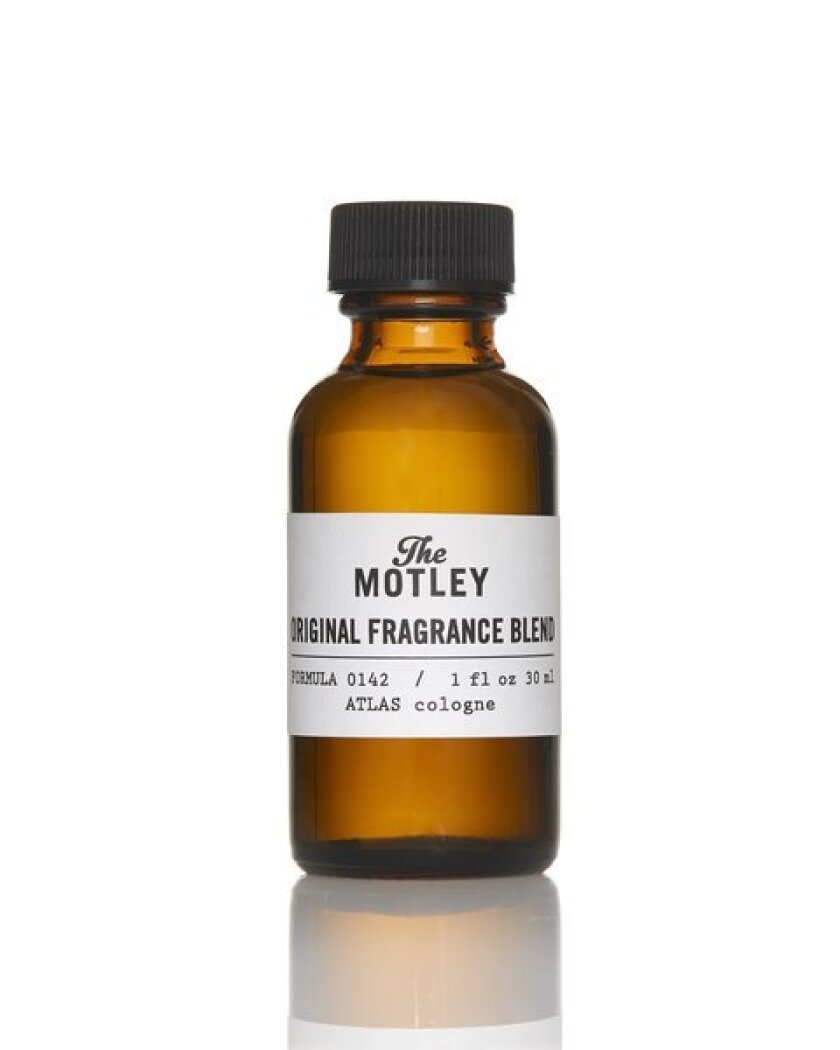 Silver Lake-based men's grooming e-tailer the Motley has launched its first cologne, a scent with notes of cedar, oak moss, amber musk, and clove, with hints of worn leather, ginger, cardamom, bergamot and green mandarin.