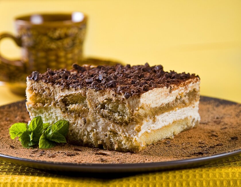 This luscious melt-in-your-mouth Italian layered cake is ready to serve