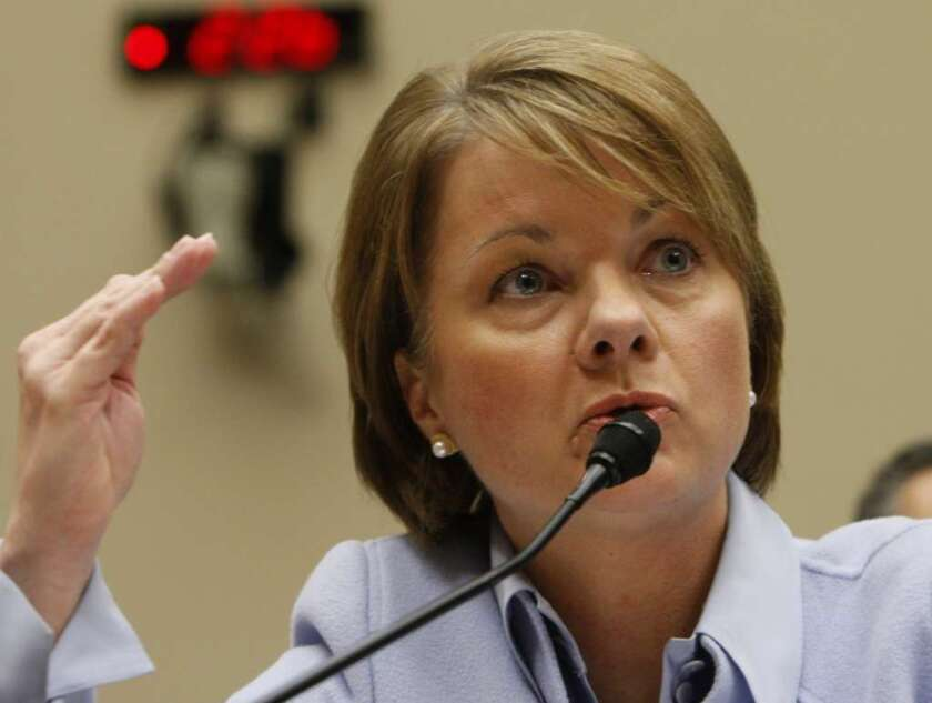 Former WellPoint Inc. Chief Executive Angela Braly quit in August amid pressure from major shareholders dissatisfied with the company's performance.