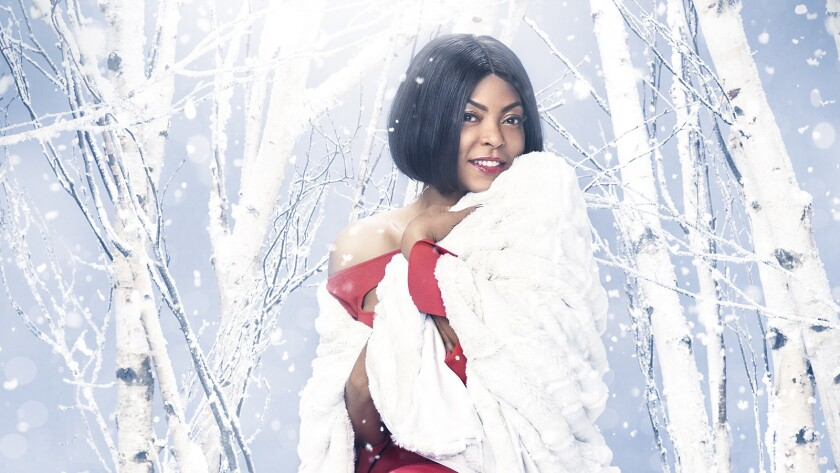 "Taraji P. Henson in the seasonal special ""Taraji's White Hot Holidays"" on Fox."