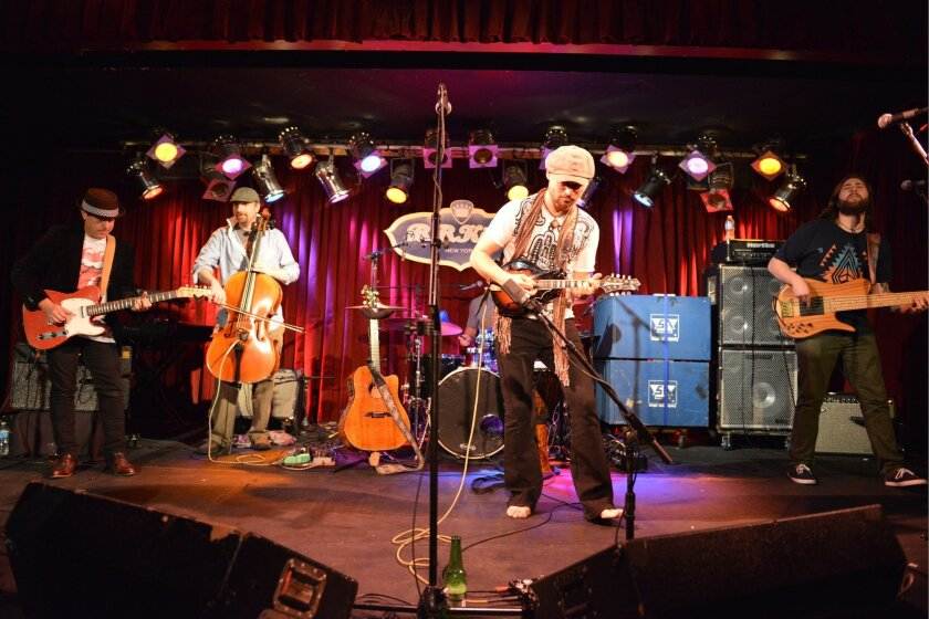 Soulfarm, a Jewish rock/Hebrew/Latin fusion band