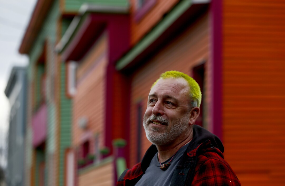 Stu McGowan is a longtime activist and philanthropist who lives in the Old North End of Burlington.