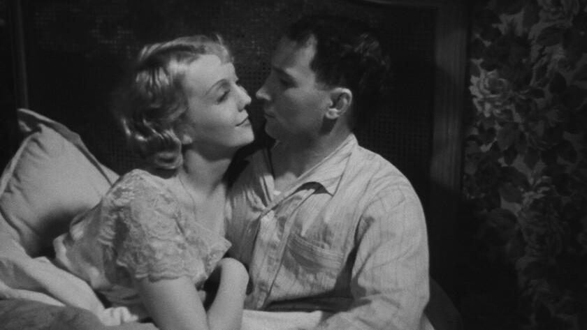 """Florelle, left, and René Lefèvre in Jean Renoir's 1936 film """"The Crime of Monsieur Lange."""""""