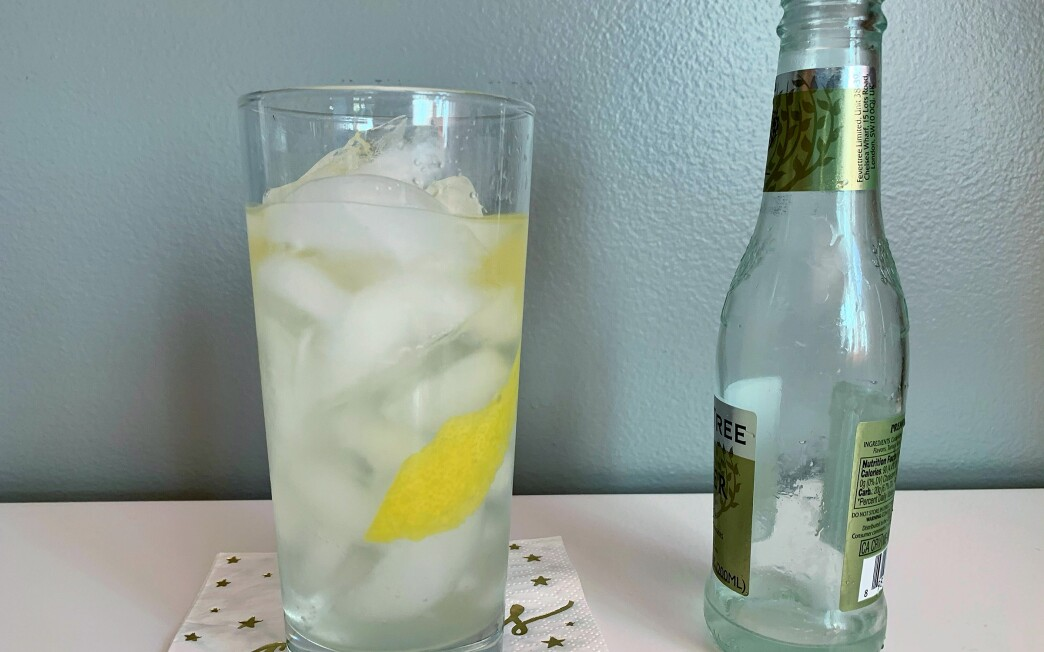 Lemon Twist Gin and Tonic