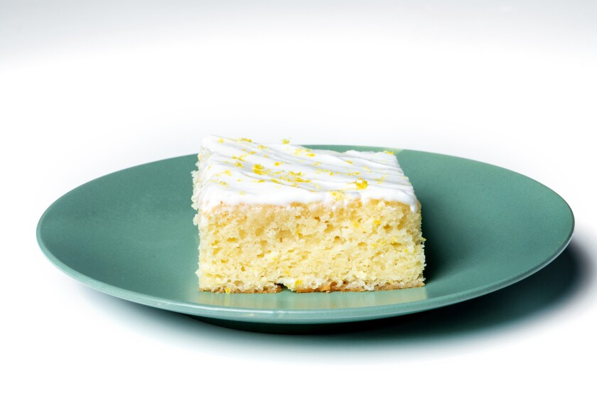 Go overboard with lemon for the best grown-up cake