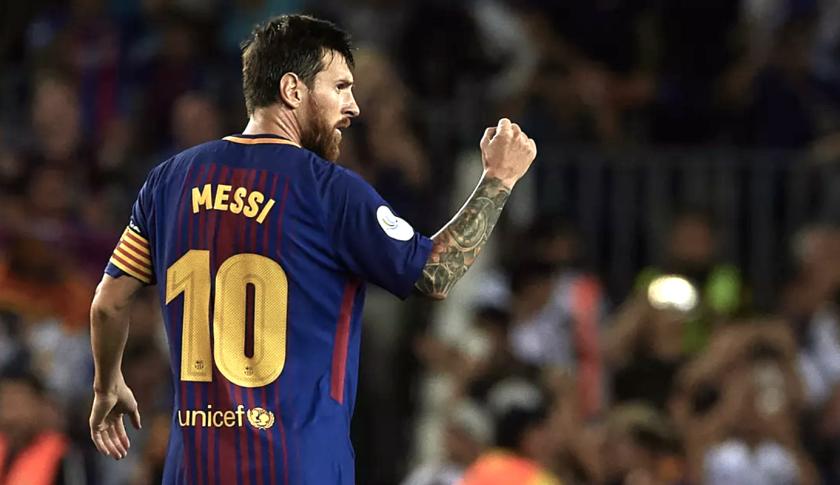 Lionel Messi, astro del Barcelona.