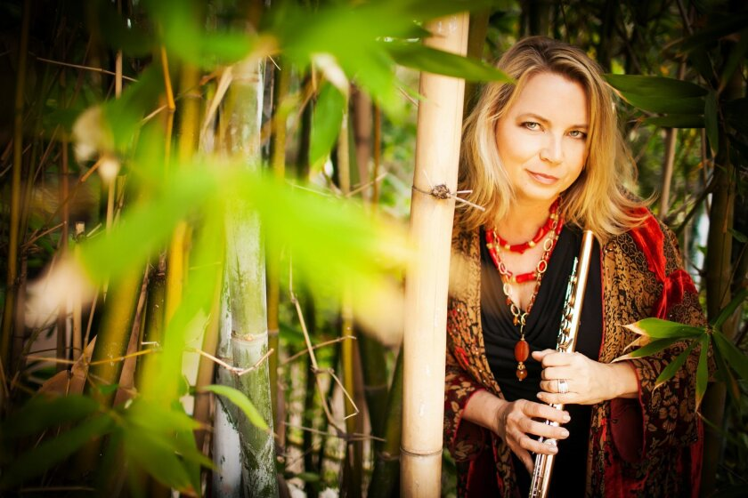 Flutist Beth Ross Buckley is the co-founder of San Diego's Camarada chamber ensemble, which opens its 25th season on Thursday.