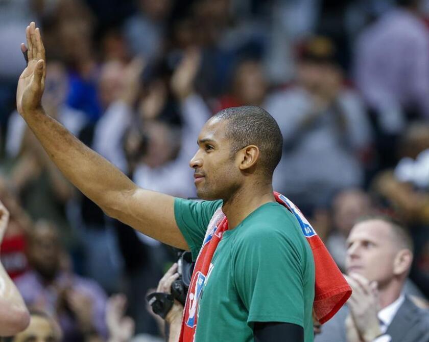 El jugador de Boston Celtics, Al Horford esta semana durante un partido de la NBA. EFE