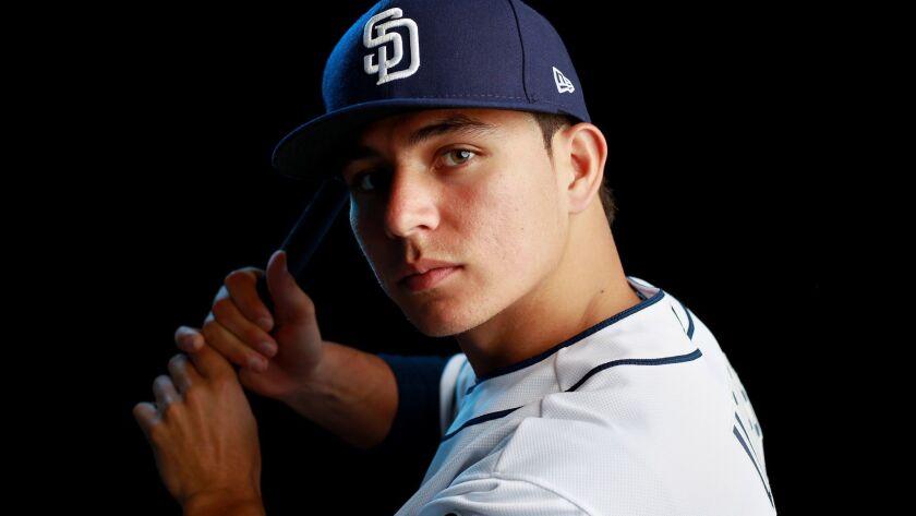 San Diego Padres infielder Luis Urias.
