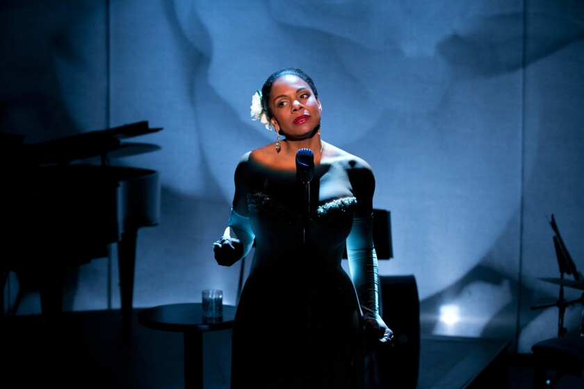 """Audra McDonald as Billie Holiday in """"Lady Day at Emerson's Bar & Grill."""""""