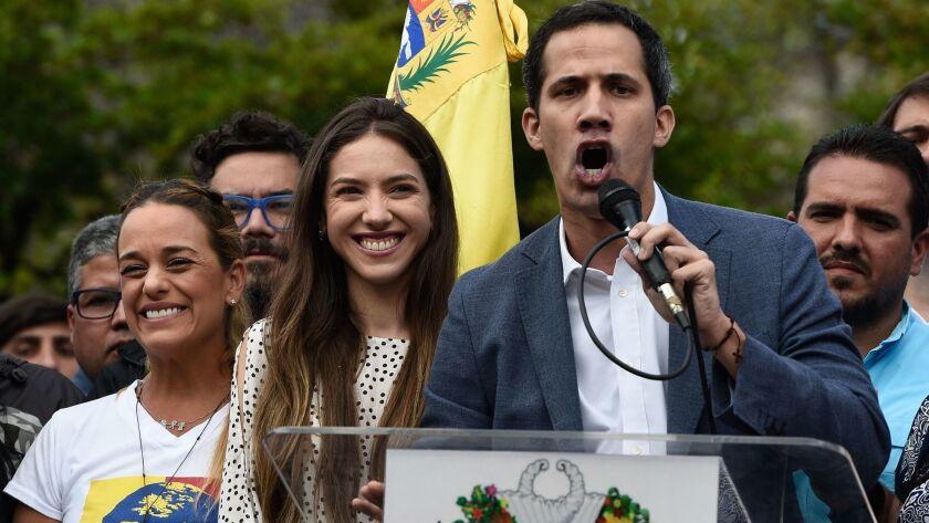 VENEZUELA-CRISIS-OPPOSITION-GUAIDO-RALLY