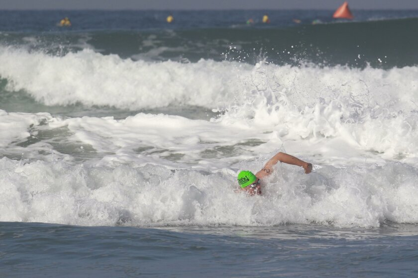 85th annual Oceanside pier swim