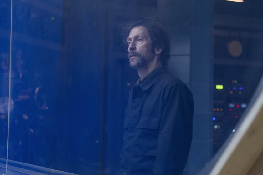 """Tim Blake Nelson in """"Watchmen."""""""