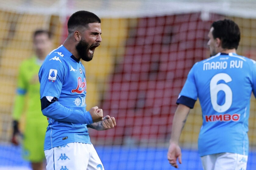 Lorenzo beats Roberto as Insigne brothers meet for 1st time - The San Diego  Union-Tribune