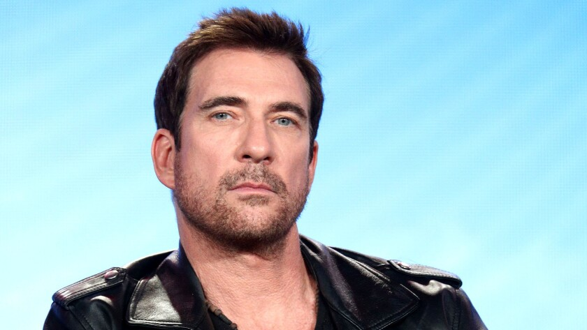 Dylan McDermott is seen during the 2018 Winter Television Critics Assn. Press Tour in Pasadena.