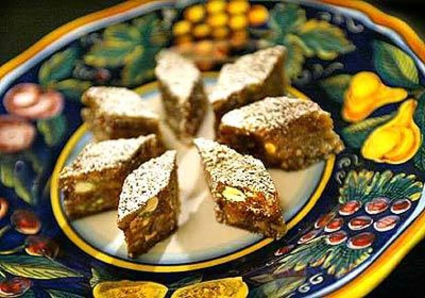 Cardamom adds a haunting floral note to the dried fruit- and nut-filled L.A. version of panforte.