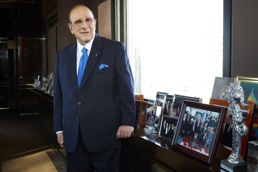 """Clive Davis is the focal point of """"Clive: Working for the Man in the Age of Vinyl,"""" written by Davis' former employee Don Silver."""