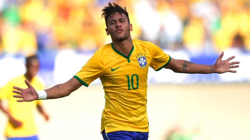 Neymar lidera el ataque brasileño en Río 2016.