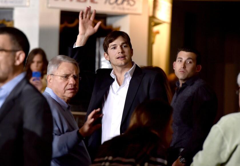 Ashton Kutcher is just like us. And he shares those fatherhood woes on Facebook.