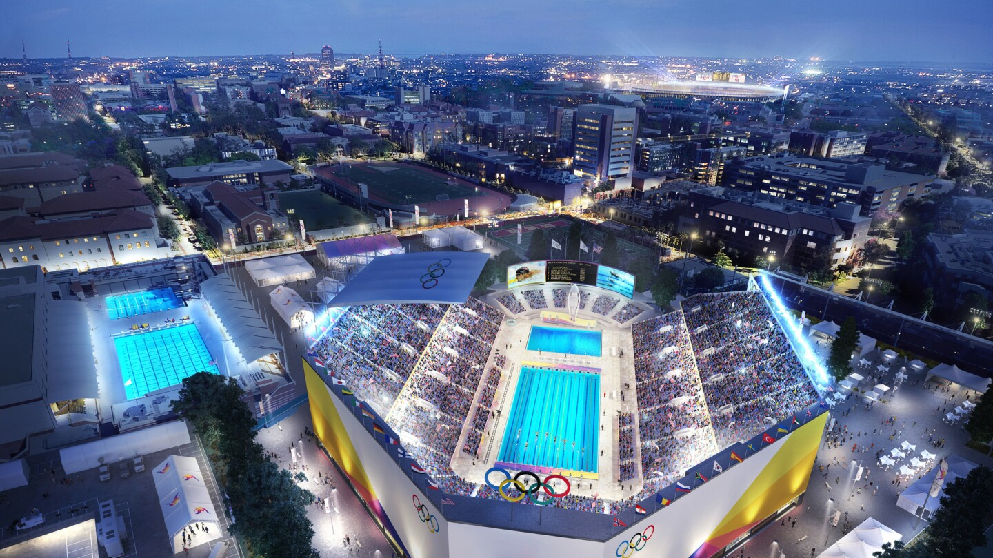 LA 20 releases new visuals of potential Olympic Games   Los ...