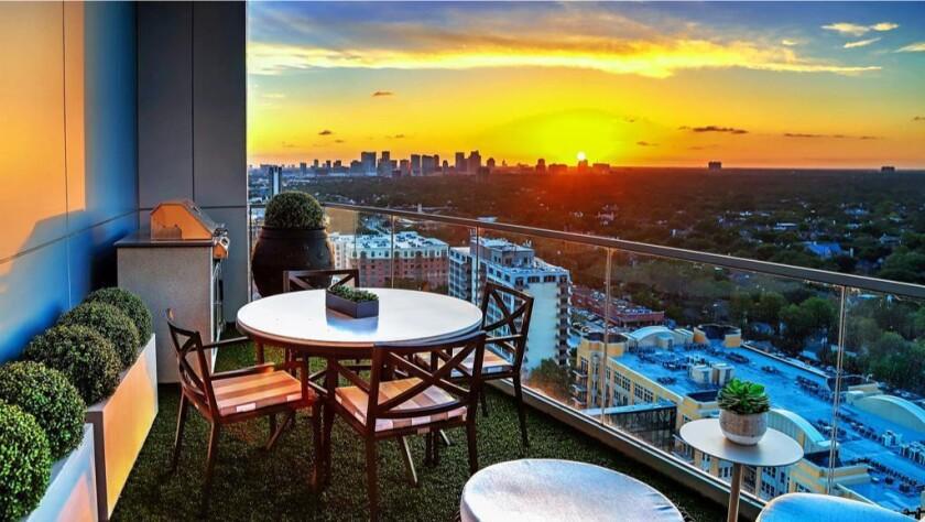 Ryan Anderson's Houston condo
