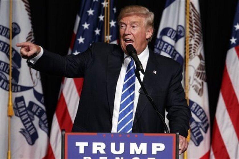 Donald Trump busca reorganizar su equipo de campaña nombrando a líderes conservadores.