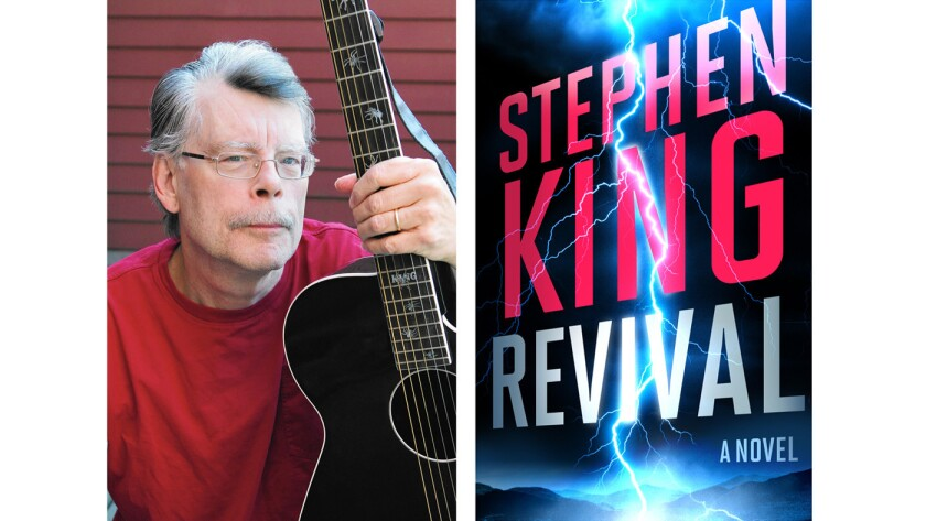 """Cover of the book """"Revival"""" by Stephen King"""