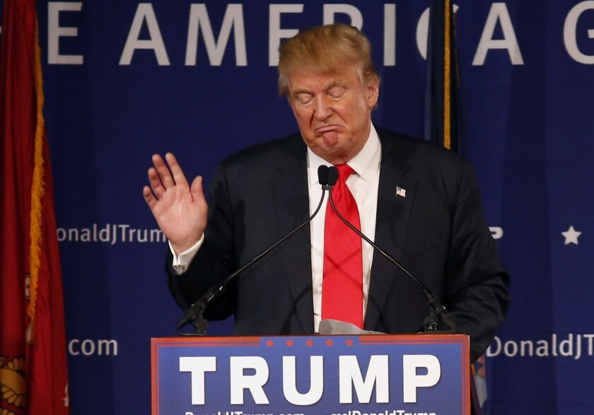 Republican presidential candidate Donald Trump, speaking at a rally at the USS Yorktown in South Carolina on Monday, defended his proposal to ban Muslims from entering the country.