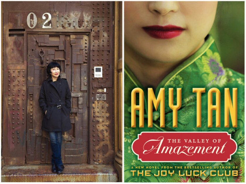 Amy Tan's 'The Valley of Amazement,' on a courtesan's life