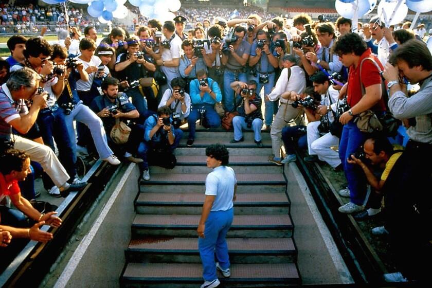 Presentación de Diego Maradona