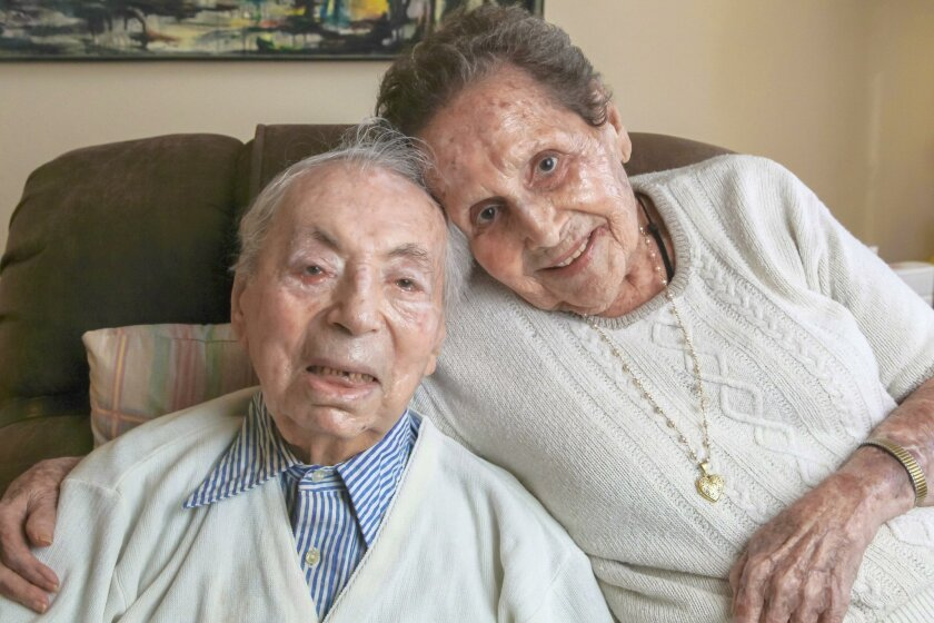 Maury and Helen Goosenberg, 102 and 100, met in 1931 at a Halloween party, and got married despite family opposition.