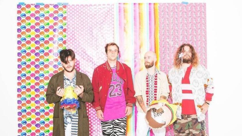 Wavves: Nathan Williams, Alex Gates, Brian Hill, and Stephen Pope. (Alexandra Gavillet)