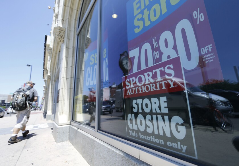 As it goes through bankruptcy proceedings, Sports Authority auctioned off customer data and other holdings.