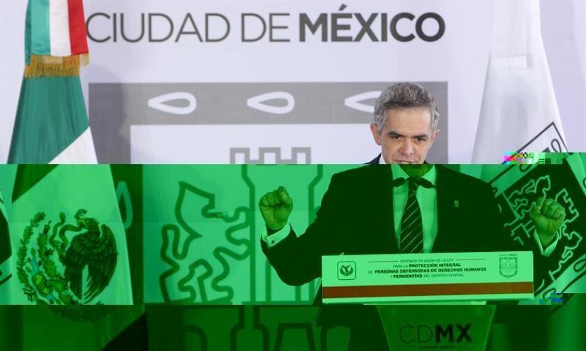 La Suprema Corte de Justicia de la Nación (SCJN) concedió hoy un amparo al alcalde de la Ciudad de México, Miguel Ángel Mancera, para que no se ejecute un arresto administrativo en su contra. EFE/ARCHIVO