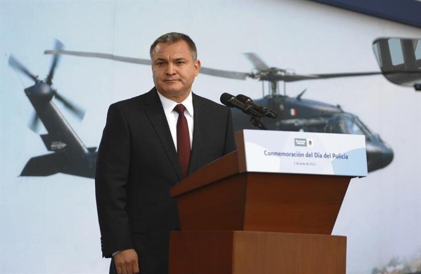 Fotografía de archivo del exsecretario de Seguridad Pública (SSP) de México, Genaro García Luna. EFE/Archivo